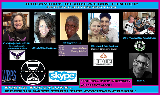 Skype Lineup Recovery Recreation Show.pn