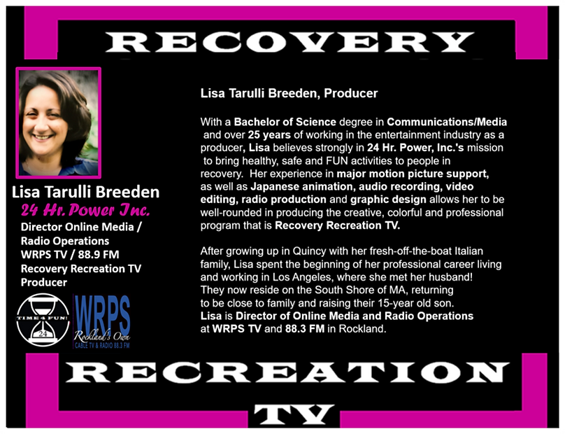 Lisa Breeden Producer Recovery Rec TV Pr