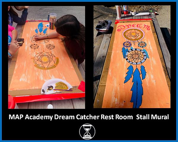 MAP Academy Dream Catcher Restroom Stall