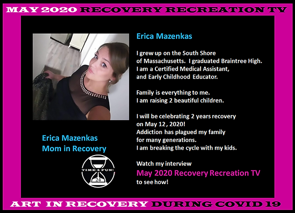 Erica Profile for Recovery Recreation Ma