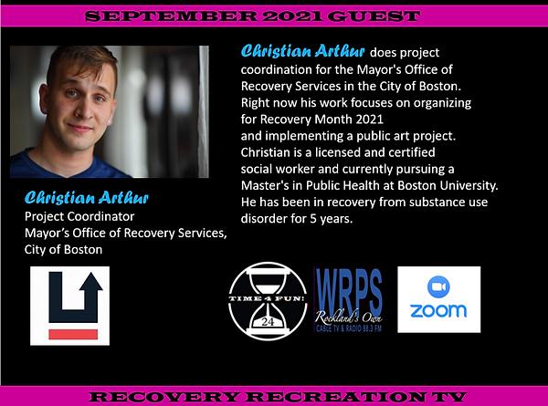 Christian Arthur Guest 2nd Segment Recovery Rec TV Sept 2021 Show.png