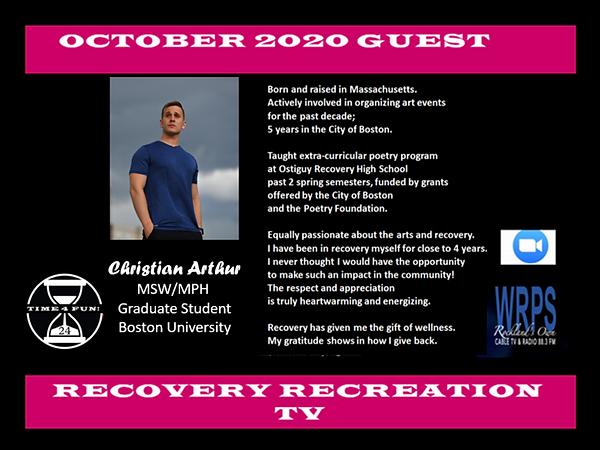 Christian Arthur Profile October Recover