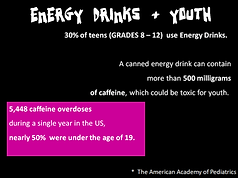 Energy Drinks and Youth Recovery Graffit