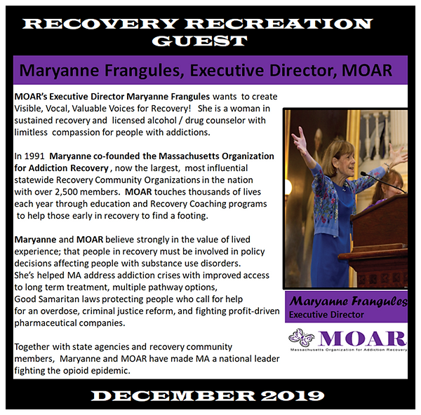 Maryanne Profile Revised for Recovery Re