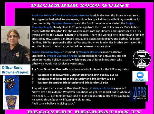 Officer Rosie Brown Vazquez Profile Reco