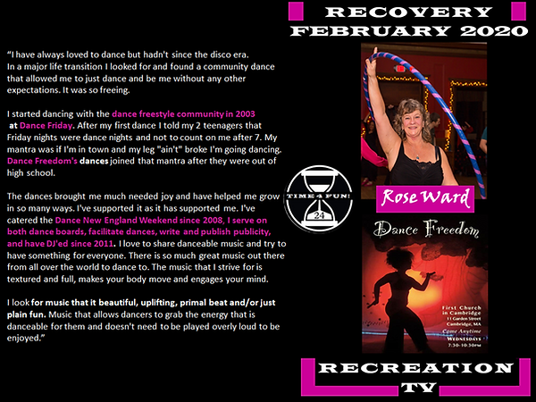 Rose Ward Recovery Recreation Profile.pn