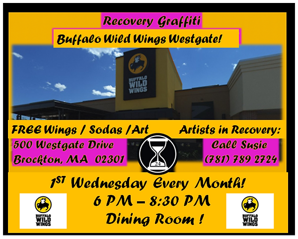 BUFFALO WILD WINGS 1ST WED EVERY MONTH E