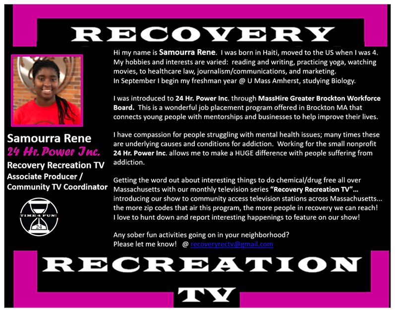 Samourra Rene Profile for Recovery Rec T