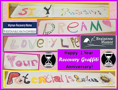 1 Year Anniversary Braintree Manor Recov