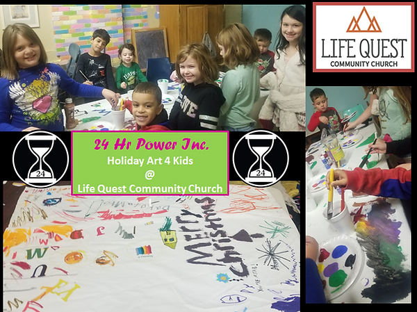 24 Hr Power Holiday Art 4 Kids Life Ques
