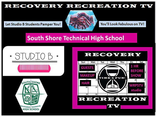 Studio B Students with Recovery Rec TV.p