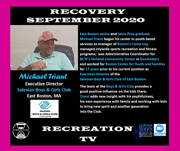 Michael Triant Profile Recovery Rec TV.p