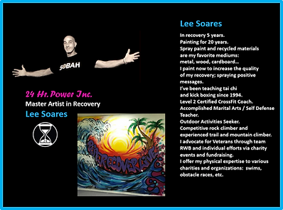 LEE SOARES MASTER ARTIST IN RECOVERY PRO