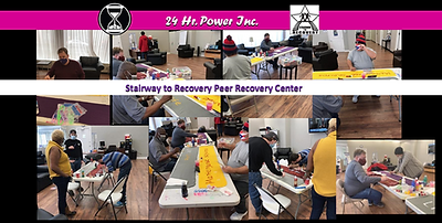 24 Hr. Power and Stairway to Recovery Bl