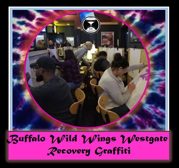BWW Westgate Recovery Graffiti Stands Dr