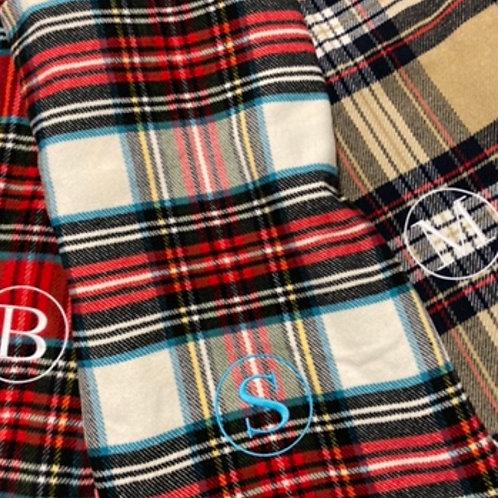 Holiday Plaid Blanket