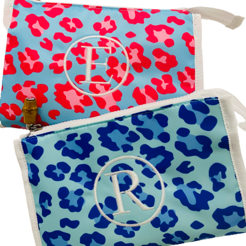 Leopard Print Cosmetic Case