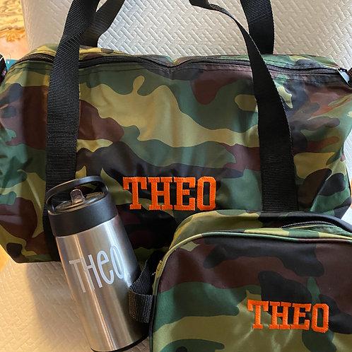 Camo Travel Set
