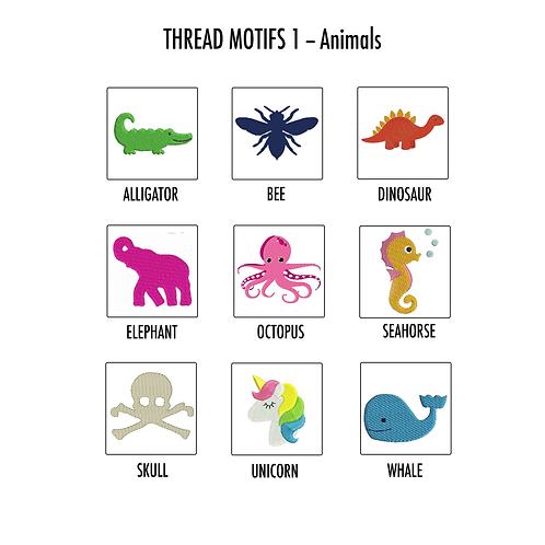 MOTIFS - THREAD  - Animals