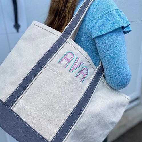 Canvas Tote Bag - Medium