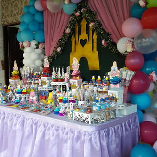 Candy Bar Princesas