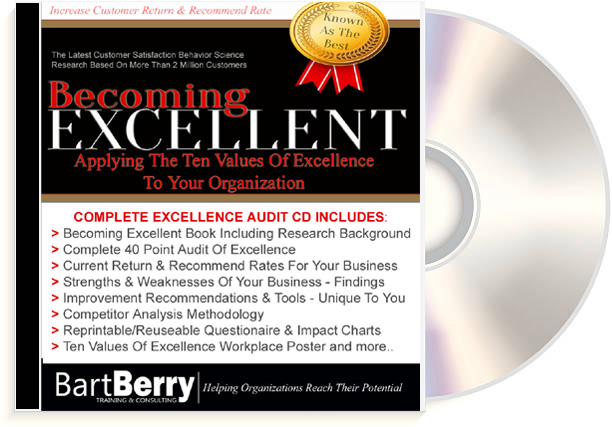 Becoming Excellent Workshop On CD