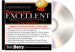 Becoming Excellent Workshop On CD