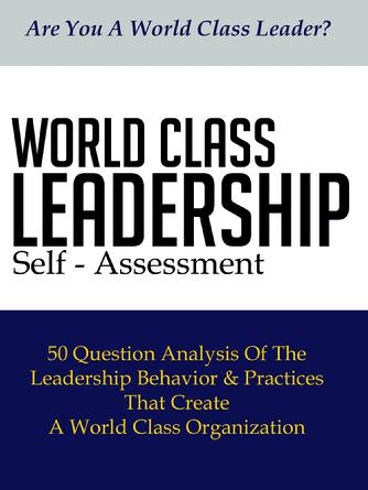 World Class Leadership Slef Assessment - Company License