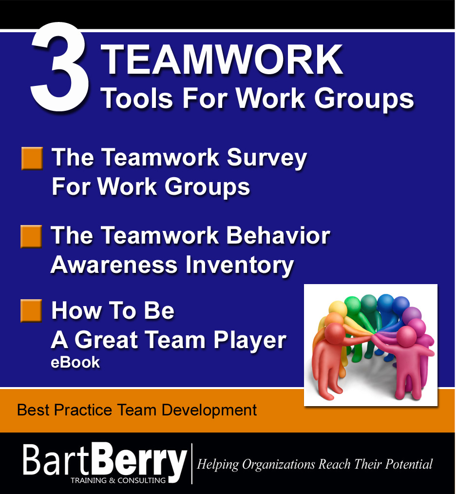 Teamwork Tools For Work Groups