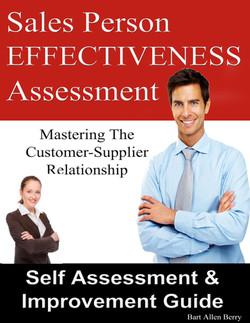 Sales Person Effectiveness Assessment