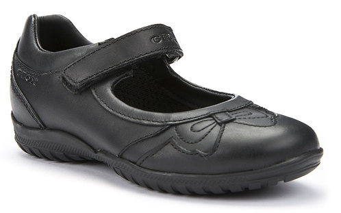 Geox J Shadow J54A6A Girls Hook & Loop Leather  30-34
