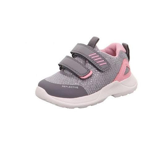 Superfit Rush Velcro Grey / Pink