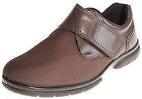 db shoes jason brown mens comfort shoe velcro