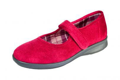 db wider shoes velcro slipper ladies house shoe farnborough