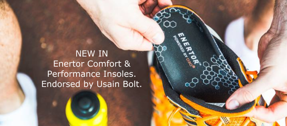 New to Footscape Shoes Enertor Comfort and Performance Insoles