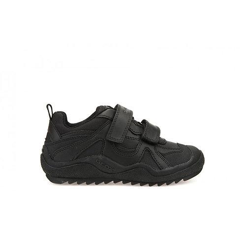 Geox J Artach Black Leather J4434A 39