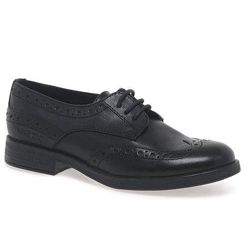 Geox J Agata Leather Lace-Up J8449D 33-41