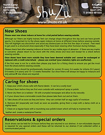 Returns & New Shoes Guide - ShuZu - Unti