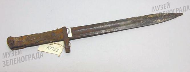 Штык - нож винтовки системы Токарева обр. 1940 г.
