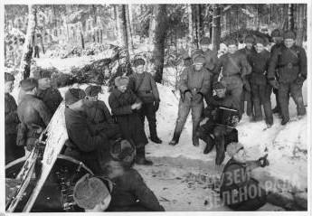 Встреча Нового 1942 года в лесу под Крюково
