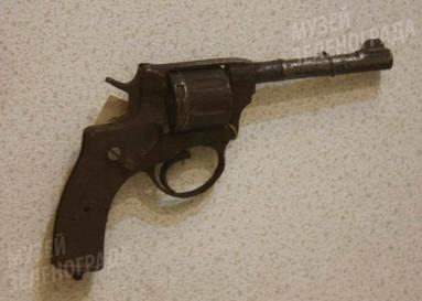 Револьвер системы Наган, образца 1895 г.