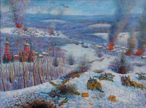 Декабрь 41-го. Ленинградское шоссе – Ржавки
