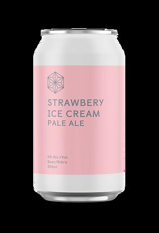 ストロベリーアイスクリーム(Strawberry Ice Cream)(355ml)