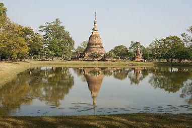 シャムの国の寺院