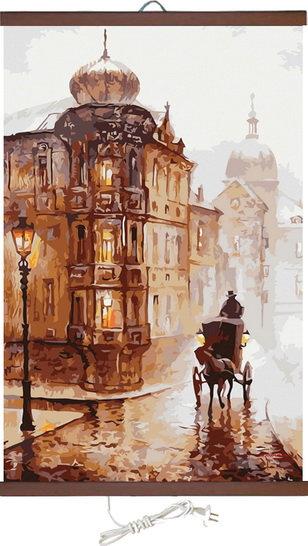 Гъвкав настенен инфрачевен нагревател- картина (450W, дизайн - Стара Прага)