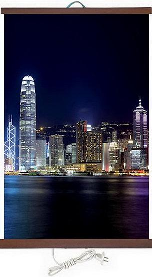 Гъвкав настенен инфрачевен нагревател- картина  (450W, дизайн - Хонг Конг)