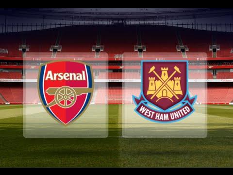 Arsenal v West Ham Sun 22nd at 12pm