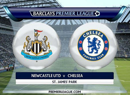 NUFC v Chelsea Sunday @ 3.00PM