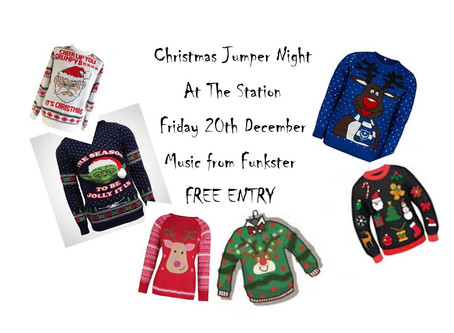 Christmas Jumper Night - 20th December