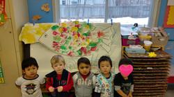 We made a rainbowfish together!